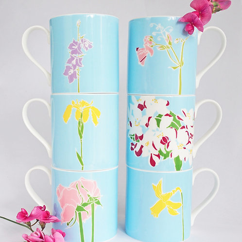 Set of 6 mugs
