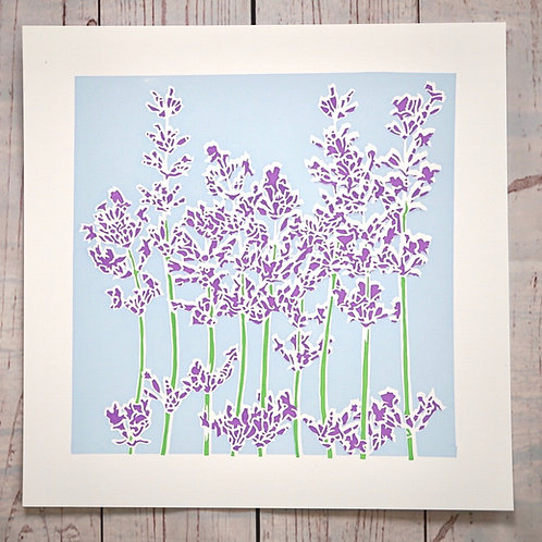 'Lavender', limited edition print