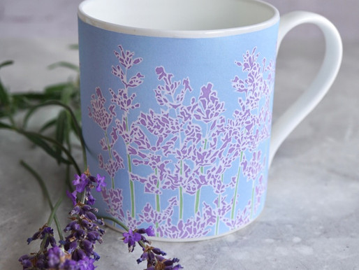 New floral mugs to collect! Available to pre-order.