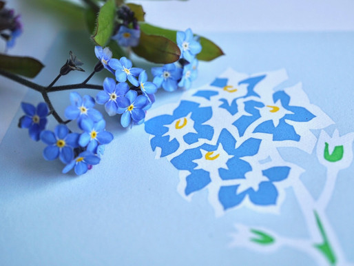 Forget me not - a pretty poignant weed