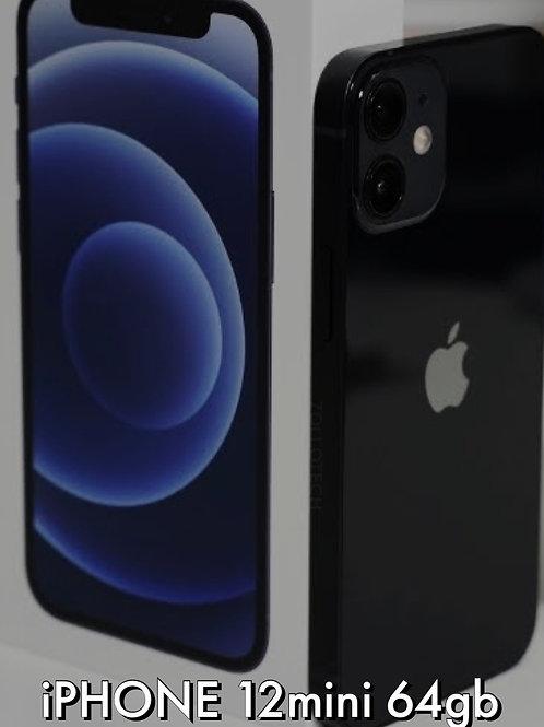 iPhone 12mini 64gb Black