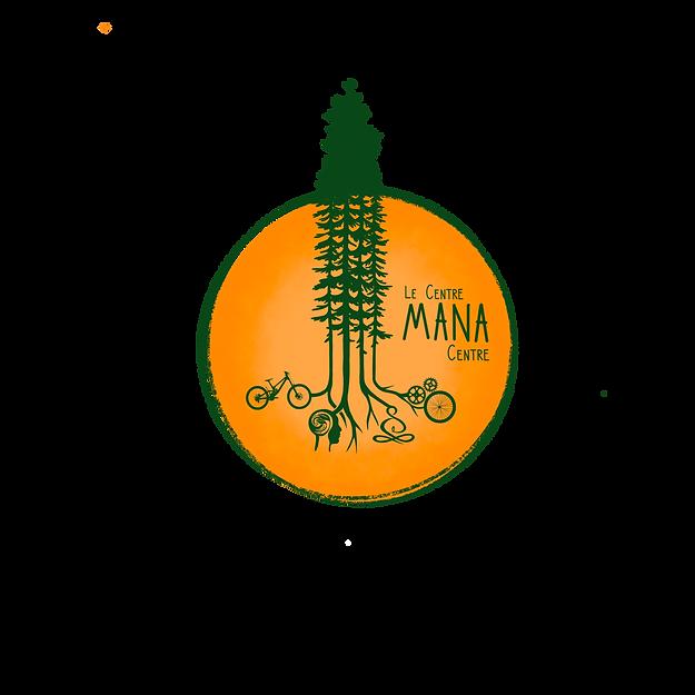 Logo Le Centre Mana par Sara Lambert