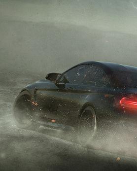 Sports Car i Storm