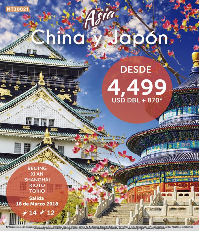China y Japon