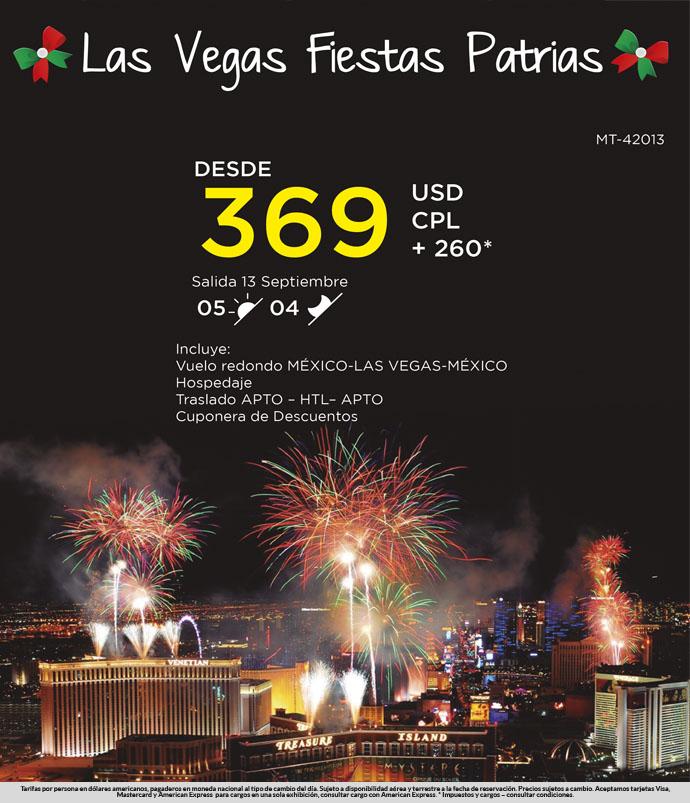 Las Vegas Fiestas Patrias
