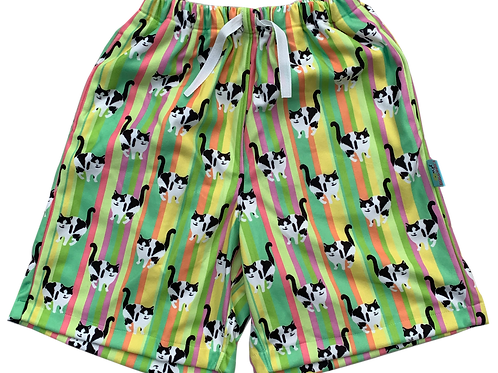 Shorts - Stripes Citrus