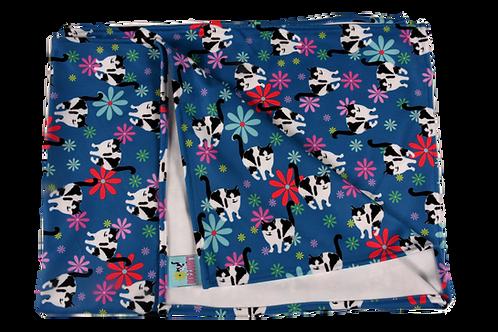 """Stroller Blanket Flowers - 30"""" x 40"""""""