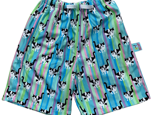 Shorts - Stripes Cotton Candy
