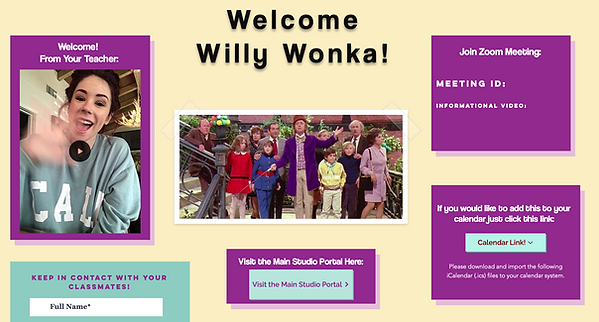Wonka Portal Peek