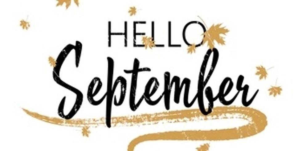Sunday, September 5, 2021 Virtual Make-Up Class!
