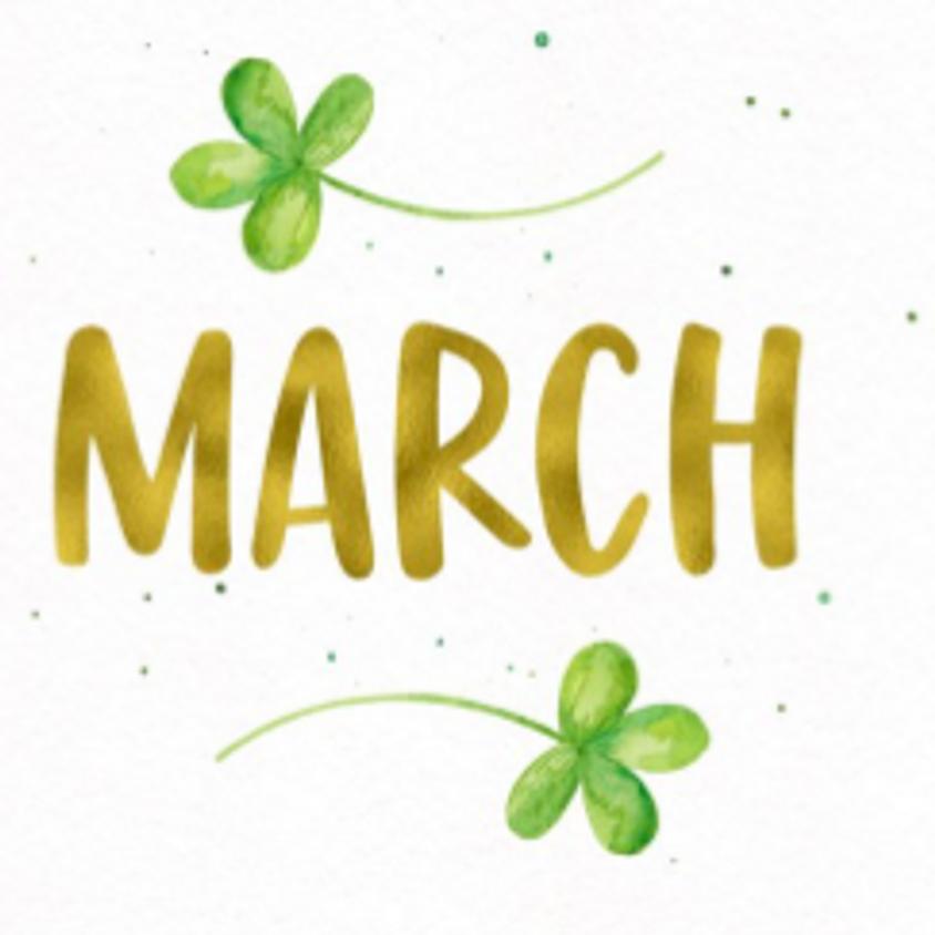 Sunday, March 7, 2021 Virtual Make-Up Class!