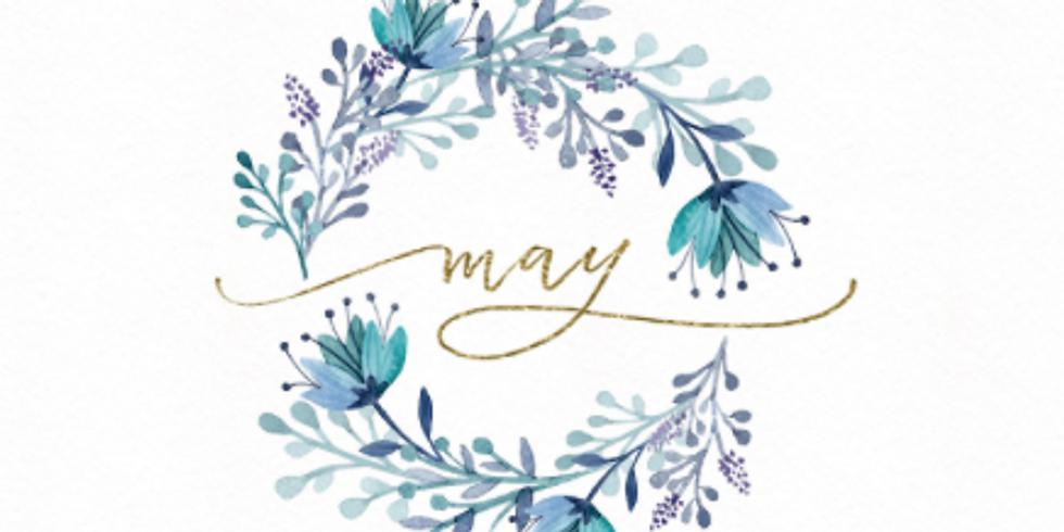 Sunday, May 2, 2021 Virtual Make-Up Class!