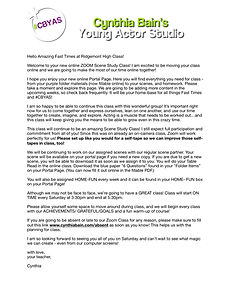 Fast Times Welcome Letter.jpg