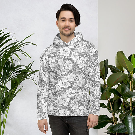 Snow Camouflage Unisex Hoodie