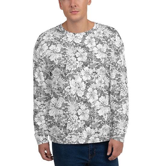 Snow Camouflage Unisex Sweatshirt