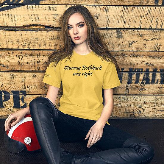 Murray Rothbard Unisex T-Shirt