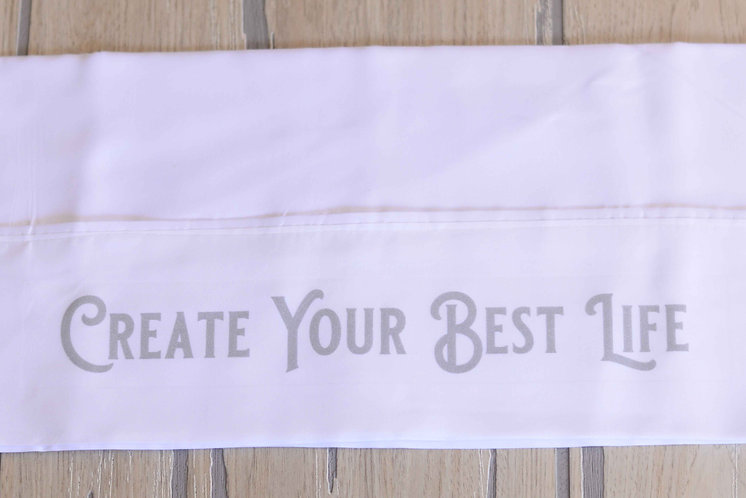 Pillowcase Gift w/ Encouraging Messages