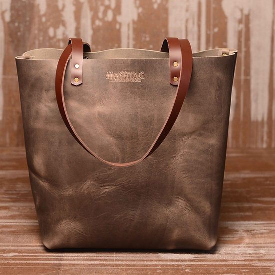The Castine Tote (Color: Gunmetal)