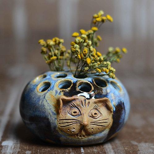 Cat Vase/Pen Holder