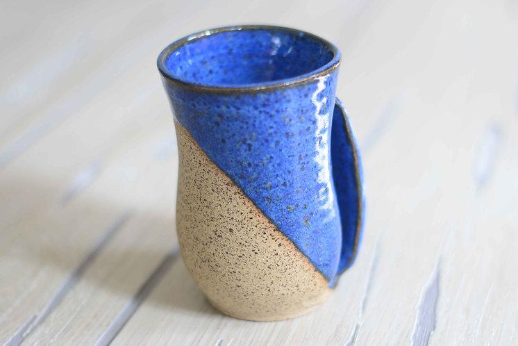 Indigo Handwarmer Mug