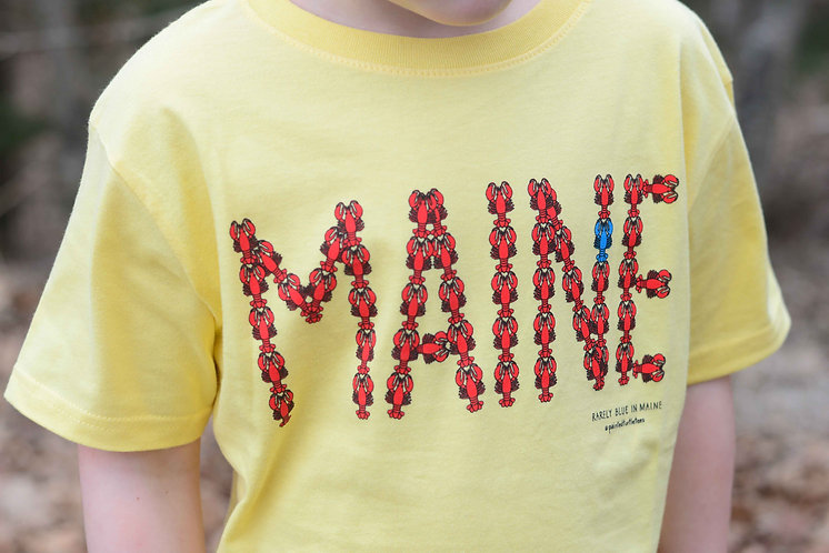 "Kids ""Maine Lobster"" T-Shirt"