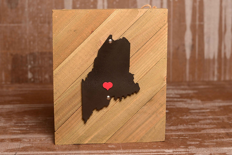 """""""Maine Home"""" Magnetic Marker Wall Art"""