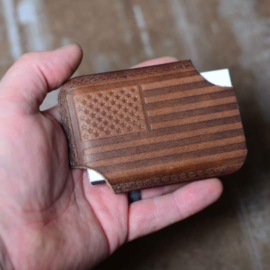 American Flag Minimalist Wallet