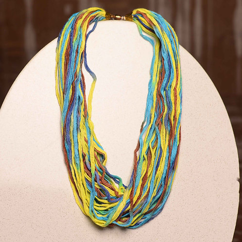 "Fiber Necklace - 12"" & 18"" Bamboo Collection"