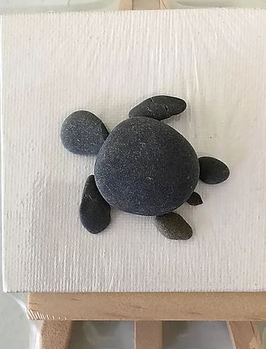 Maine Turtle Ocean DIY Art Kit