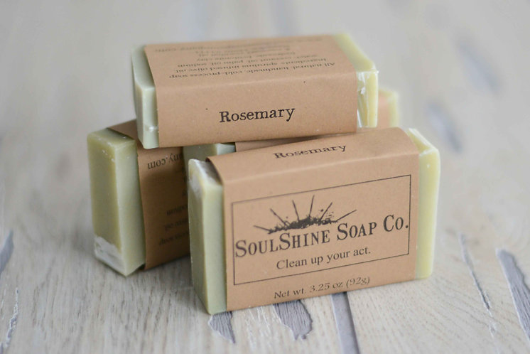 Rosemary Bar Soap (Pack of 2)