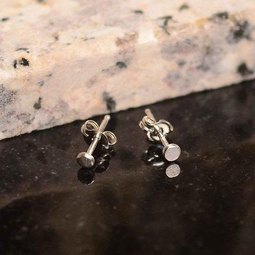 Petite Silver Stud Earrings