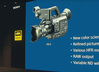 Компания Sony на NAB 2018 представила модификацию FS5, камеру Sony FS5 II.
