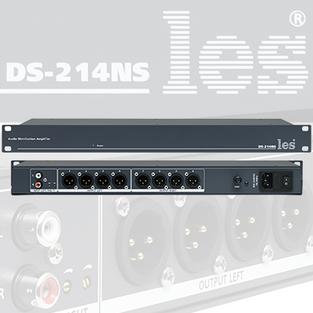 Компания «ЛЭС-ТВ» обновилaусилитель-распределитель DS-214NS.