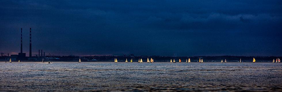 Sunset Sailing, Dublin Bay