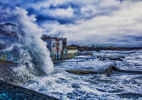 Baths Storm, Dun Laoghaire, Dublin