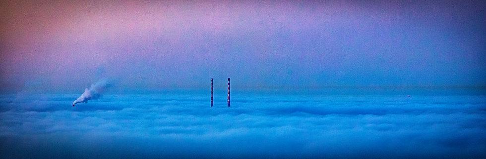 Poolbeg Towers, Dublin Bay