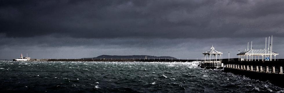 East Pier Gale, Dunlaoghaire, Dublin Bay