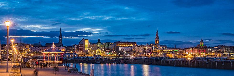 East Pier Bandstand, Dunlaoghaire, Dublin Ba