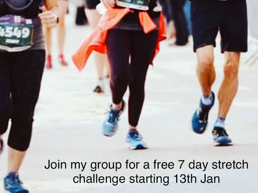 Run long, stay strong! Sign up to my free 7 Day Stretch Plan Challenge!