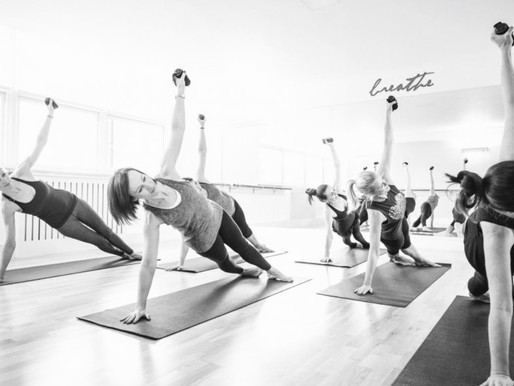 Why can cramp occur when doing Pilates?