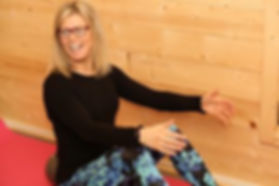 Sara Rounce, Pilates Teacher. The Wellwoman Fitness Foundation, Haslemere, Surrey