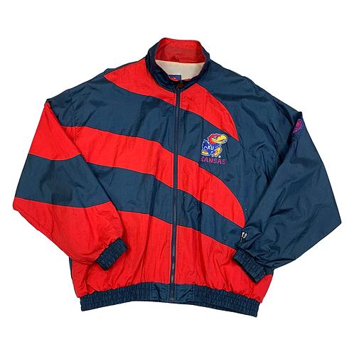 '90s Kansas Jayhawks Windbreaker Jacket