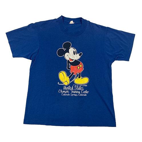'80s Mickey Olympic Training Tee