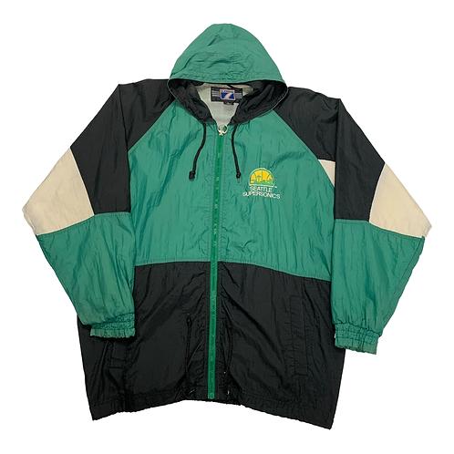 '90s Seattle SuperSonics Windbreaker