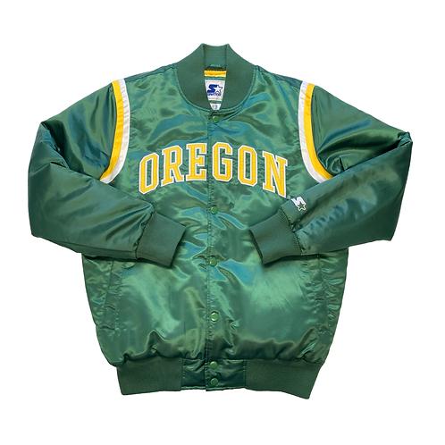 '00s Oregon Ducks Starter Satin Jacket
