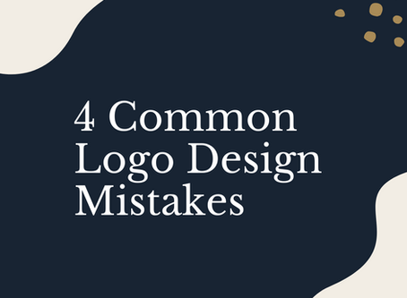 4 Common Mistakes to Avoid When Designing your Logo