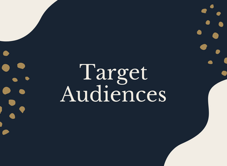 Do you know your Target Audience?