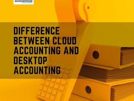 Difference Between Cloud Accounting And Desktop Accounting