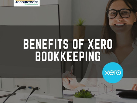 Benefits of XERO Bookkeeping
