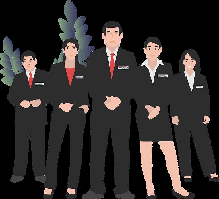 accountooze virtual accountants- Team